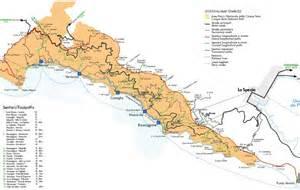 Les Cinq Terres En Italie Carte by Le Cinque Terre Les Tr 233 Sors Cach 233 S De La Riviera