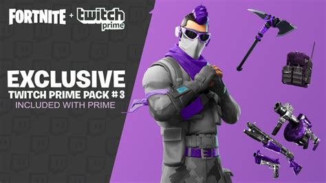 twitch prime pack  leaked fortnite twitch prime pack