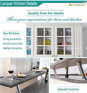 high end cream paint shark door high gloss kitchen With best brand of paint for kitchen cabinets with laptop sticker design