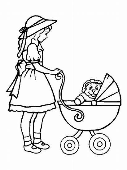 Doll Coloring Pages Getcoloringpages Rag Christmas