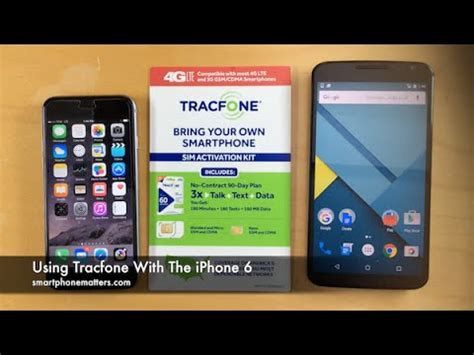 tracfone iphone 5 using tracfone with the iphone 6