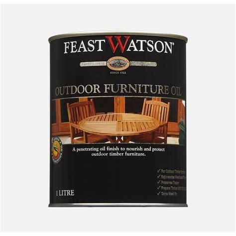 feast watson outdoor furnitiure oil  teak bunnings