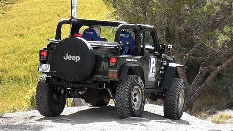 Jeep Wrangler Rubicon Off-road Trial 4x4