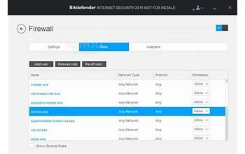 Bitdefender Internet Security screenshot #1