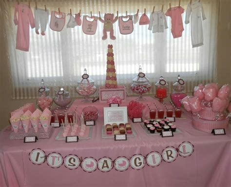 Adorables tendederos para un baby shower