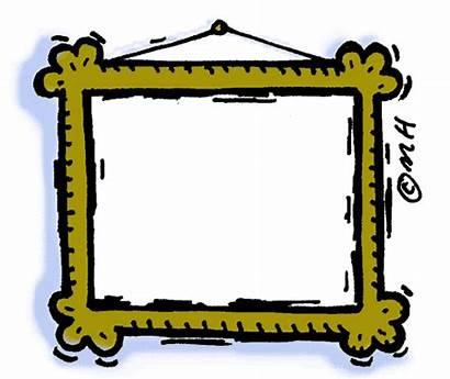 Frame Clipart Painting Clip Frames Horizontal Framed