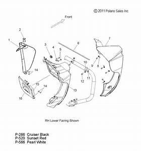 Harley Davidson Fairing Diagram