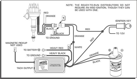 msd 6al wiring diagram for small block mopar 6425 msd