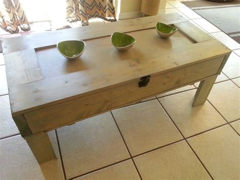 Check out our fancy coffee table selection for the very best in unique or custom, handmade pieces from our coffee & end tables shops. My reclaimed wood coffee table. Center piece removes to be replaced with glass and top lifts for ...