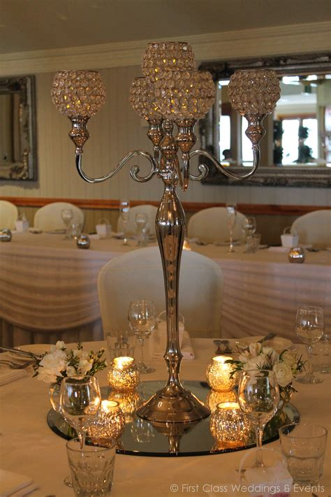 Crystal Candelabra First Class Weddings Events