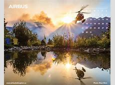 Calendars Airbus Helicopters Canada