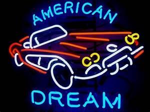 Enseigne Lumineuse Vintage : enseigne n on corvette american dream deco americaine goodies ~ Teatrodelosmanantiales.com Idées de Décoration