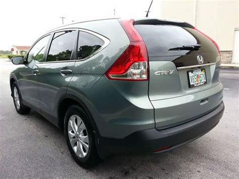 Buy Used 2012 Honda Cr-v Crv Ex-l Exl Dvd Fully Loaded In
