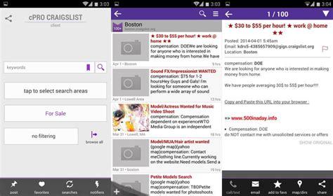 craigslist pro app android 6 best craigslist app for android to live like a king and