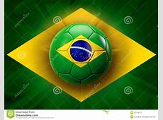 Brazil Football Royalty Free Stock Photography Image