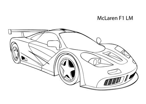 Bmw Kleurplaten A4 by Mclaren Coloring Pages To Print Coloring For 2019