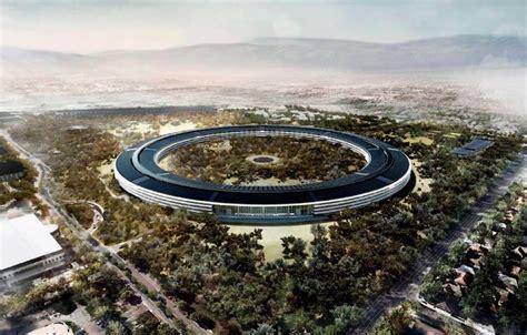 siege d apple l impressionnant nouveau siège d apple é par un drone