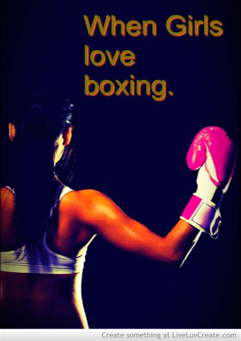 girl boxing quotes quotesgram