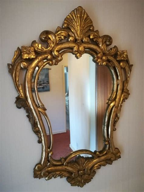 Introducing the hubba mirror by umbra. Decorative gold framed mirror   in Hale, Manchester   Gumtree
