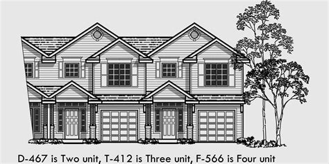 5 bedroom house plans with bonus room triplex house plans multi family homes row house plans