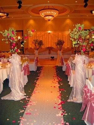 ceremony and reception in the same room weddings
