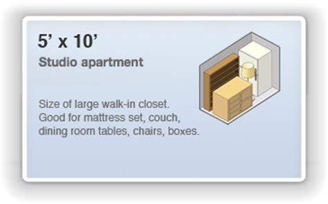 storage solutions for a small bedroom 5 x 10 storage unit rental in pickerington ohio 50 sq ft