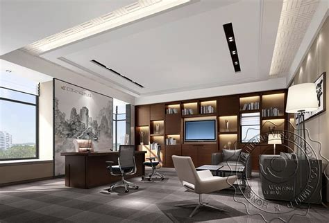 ideas for a small living room general manager office rendering design style
