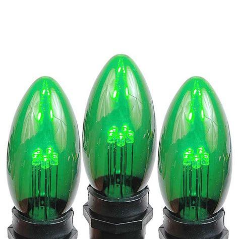 green led c9 ceramic bulbs novelty lights