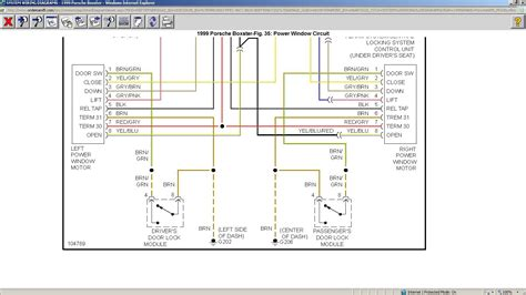 2003 Porsche Boxster Wiring Diagram by Just Bought A 99 Boxster And The Windows Wont Roll I