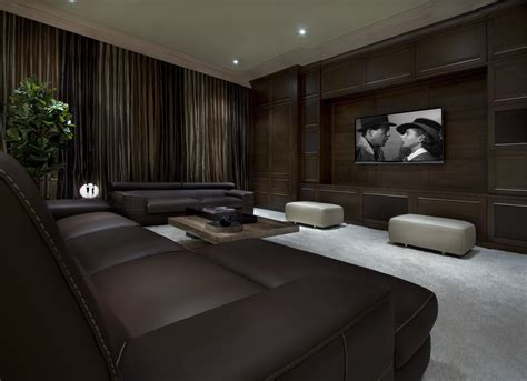 11 Ultra-luxe Home Movie Theaters You Have To See To Believe J&k Kitchen Cabinets Freestanding Tall Cabinet Door Shelves White In Kitchens Installation Black Handles New Doors On Old Hardware Pulls And Knobs