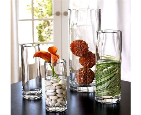 Decorating Ideas Vases by Cylinder Vase Arrangements Thanksgiving Table Settings