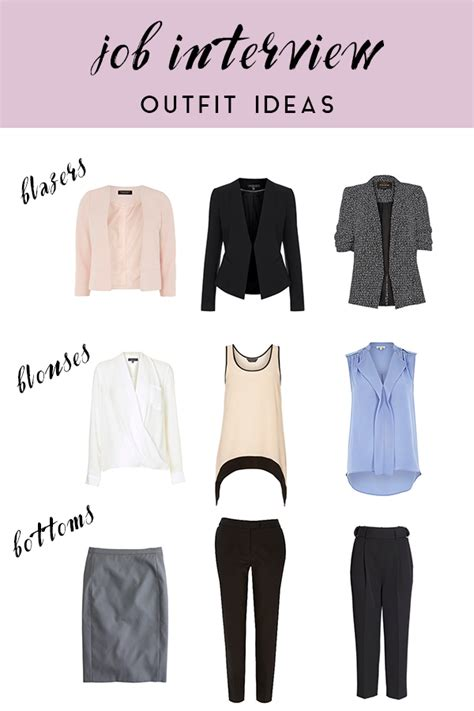 What to wear to a job interview / how to dress for an interview | Job interviews Clothes and ...