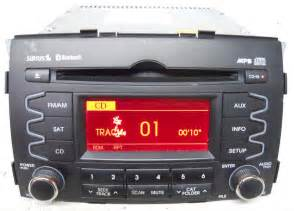 Kia Radio by Kia Sorento 2011 2012 2013 Factory Sat Ready Mp3 Cd Player