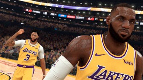 nba  gameplay trailer features lebron james anthony