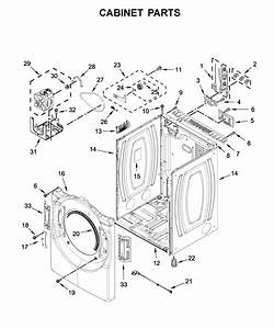 Whirlpool Wed5620hw0 Dryer Parts