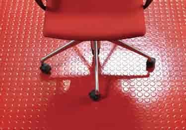johnsonite roundel raised rubber floor