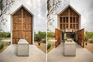 Casa Tiny Concrete Surf House In Mexico