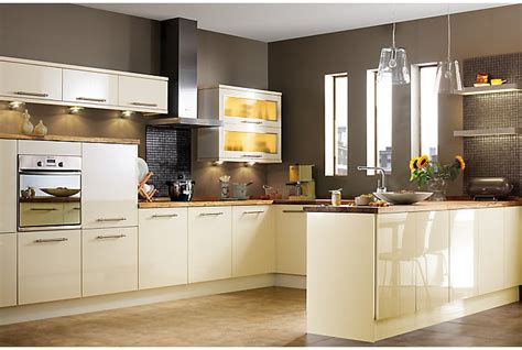 gloss kitchens ideas it gloss slab kitchen ranges kitchen rooms diy at b q