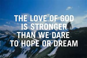 God's love | Verge Network