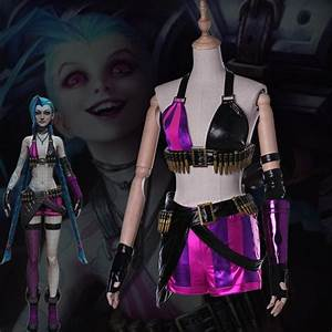 Jinx LoL THE LOOSE CANNON League of Legends Cosplay ...