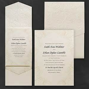 carlson craft wedding invitations baroque brilliance invitation gt pockets carlson craft view only site mankato mn