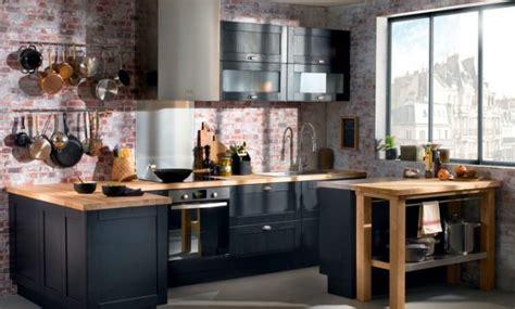 image cuisine moderne design cuisine gris anthracite quel couleur au mur 22