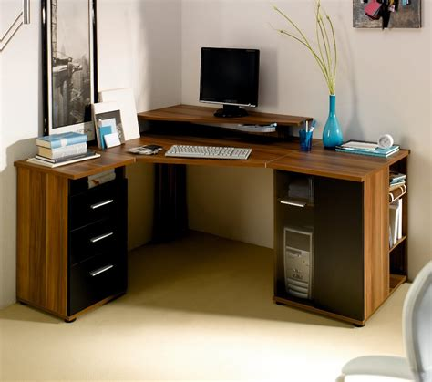 Dark Minimalist Computer Desks Furniture For Home Office