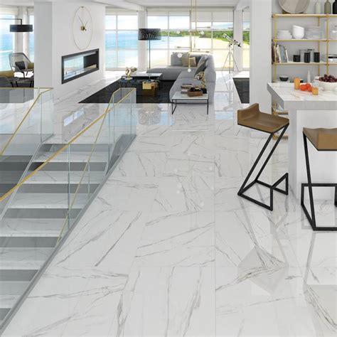 carrelage marbre blanc carrelage grand format effet marbre design noir ou blanc