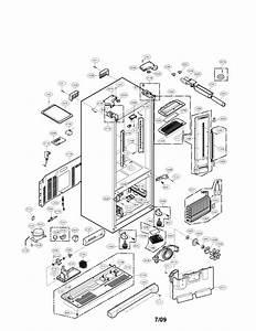 Case Parts Diagram  U0026 Parts List For Model Lfx21975st Lg