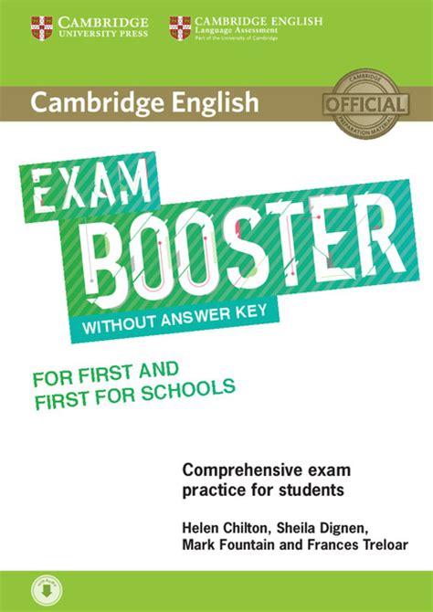 exam booster cambridge university press espana