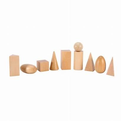 Shapes Geometric Blocks Wooden Math Toys Toy