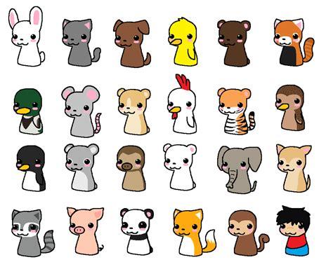 chibi animals  pixel kit  deviantart