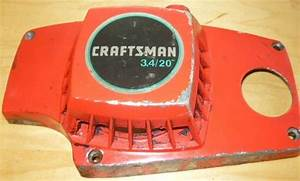 Craftsman 3 4 Chainsaw Starter Recoil Cover And Pulley