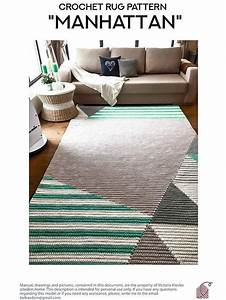 This Rug Pattern Includes A Pdf With Written Instructions